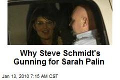 Why Steve Schmidt's Gunning for Sarah Palin