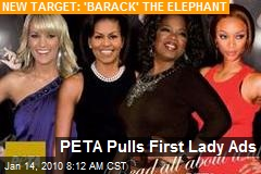 PETA Pulls First Lady Ads