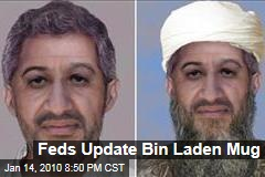 Feds Update Bin Laden Mug