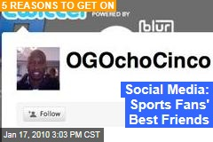 Social Media: Sports Fans' Best Friends