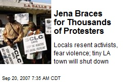 Jena Braces for Thousands of Protesters