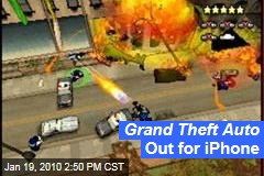 Grand Theft Auto Out for iPhone
