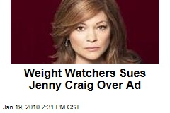 Weight Watchers Sues Jenny Craig Over Ad