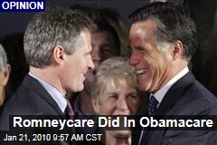 Romneycare Did In Obamacare