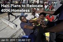 Haiti Plans to Relocate 400K Homeless