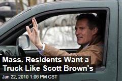 Mass. Residents Want a Truck Like Scott Brown's