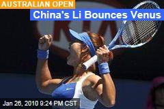 China's Li Bounces Venus