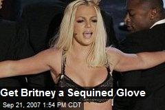 Get Britney a Sequined Glove