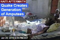 Quake Creates Generation of Amputees