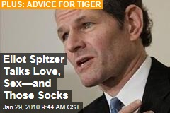 Eliot Spitzer Talks Love, Sex—and Those Socks