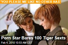 Porn Star Bares 100 Tiger Sexts