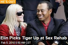 Elin Picks Tiger Up at Sex Rehab