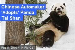 Chinese Automaker 'Adopts' Panda Tai Shan