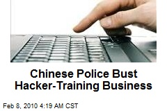 Chinese Police Bust Hacker-Training Business