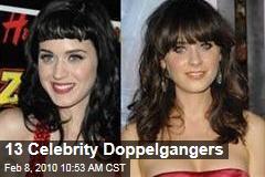 13 Celebrity Doppelgangers