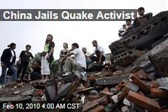 China Jails Quake Activist