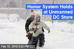 Honor System Holds at Unmanned DC Store