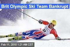 Brit Olympic Ski Team Bankrupt