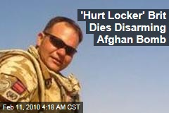 'Hurt Locker' Brit Dies Disarming Afghan Bomb