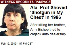 Ala. Prof Shoved 'Shotgun in My Chest' in 1986