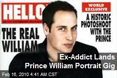 Ex-Addict Lands Prince William Portrait Gig