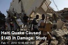 Haiti Quake Caused $14B in Damage: Study