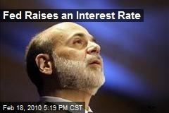 Fed Raises an Interest Rate