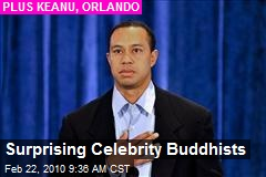 Surprising Celebrity Buddhists