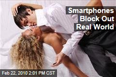 Smartphones Block Out Real World