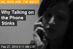 Why Talking on the Phone Stinks