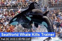 SeaWorld Whale Kills Trainer