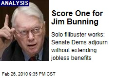 Score One for Jim Bunning
