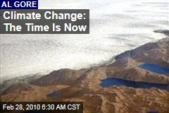 Climate Change: The Time Is Now