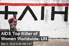 AIDS Top Killer of Women Worldwide: UN