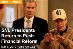 SNL Presidents Return to Push Financial Reform
