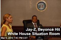 Jay-Z, Beyoncé Hit White House Situation Room