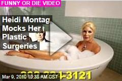Heidi Montag Mocks Her Plastic Surgeries