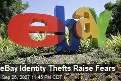 eBay Identity Thefts Raise Fears