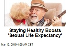 Staying Healthy Boosts 'Sexual Life Expectancy'