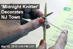 'Midnight Knitter' Decorates NJ Town