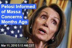 Pelosi Informed of Massa Concerns Months Ago
