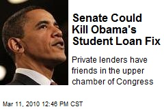 Senate Could Kill Obama's Student Loan Fix