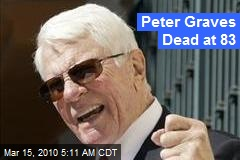 Peter Graves Dead at 83