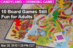 10 Board Games Still Fun for Adults