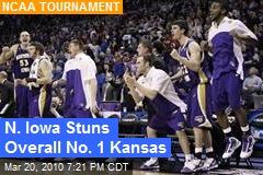 N. Iowa Stuns Overall No. 1 Kansas