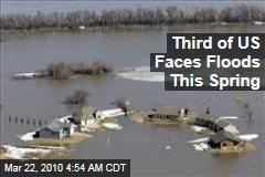 Third of US Faces Floods This Spring