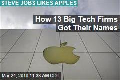 How 13 Big Tech Firms Got Their Names