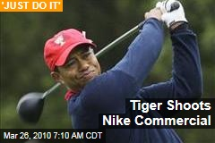 Tiger Shoots Nike Commercial