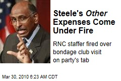 Steele's Other Expenses Come Under Fire