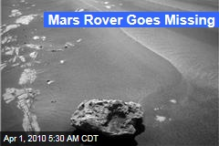 Mars Rover Goes Missing
